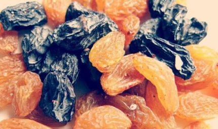 الفواكه المجففة
