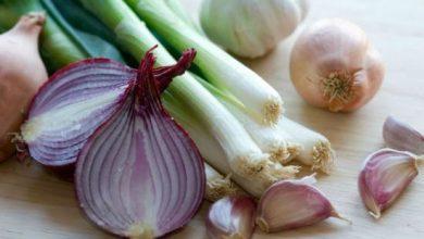 فوائد البصل و الثوم